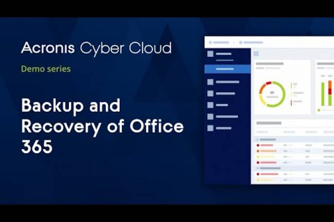Patch Management | Acronis Cyber Protect Cloud | Acronis Cyber Cloud Demo Series